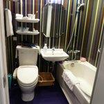 Colourful toilet