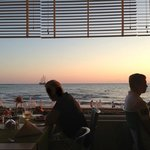 View from the restaurant