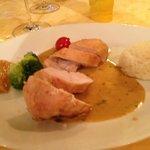le plat volaille