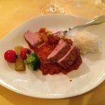 le plat de porc