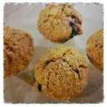Blueberry Muffins made with Carolina Ground Flour!