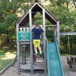 Little playground area