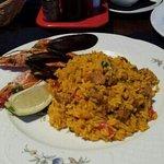 seafood paella @ los tucanes