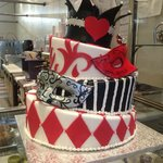 Specialty cakes, pastries, cupcakes, sandwiches, salads, & coffee
