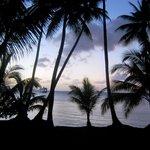 avond valt over het resort