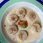 Wonderful scallops - a favorite dinner entree