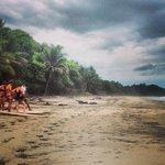 Surf School with Proyecto Montezuma