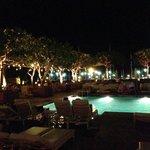 Sunrise Pool at night