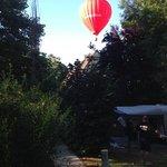 passage de montgolfière