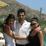 Ellie, Maria & Costas - the family