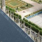 Veduta dei giardini dalla torre
