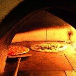 Pizza al horno, buenísima
