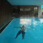Enjoy Swimming at Tpahae Guesthouse