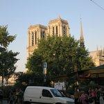 Utsikt från Restaurant Notre Dame