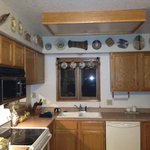 Kitchen with amazing decor