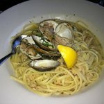 pasta dish with clams