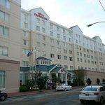 Façade du Hilton Garden Inn