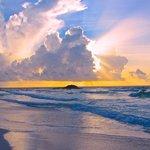 The Sunrise Right Outside the Cabana