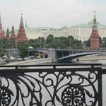 View from Pedestrian bridge by Cathedral of Christ the Saviour