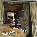 Pub dining room