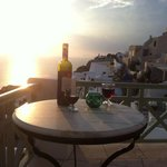 Wine with Sunset