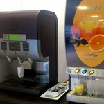 Coffee and juice machines Hotel Cascade Midi Brussels