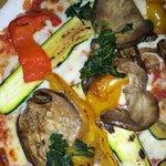Vegetarian gluten free pizza