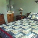 Bedroom #2 with en-suite vanity