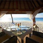 Romantic Dining in Private Beach Palapa