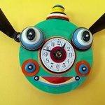 Fun clock in the dining room