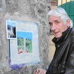 Francesco Lorenzini al lavoro in Via Sant'Apollinare