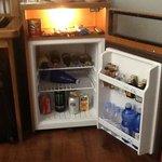 minibar met leuvens bier