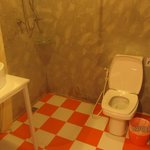 Orange tiles!