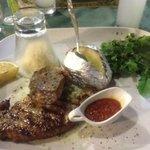 Tuna steak - beautiful!
