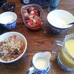 Just the beginning of breakfast!