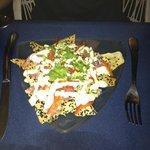 Seared tuna nachos