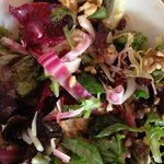 beets and farro