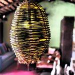 SHADY LAMP AT LA CASITA