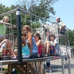 Giant Shopping Carts Rides--don't miss these!