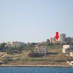 Villa Margherita vista dal mare 2