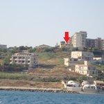 Villa Margherita vista dal mare 3