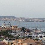 veduta camera : Isola La Maddalena e porto di Palau