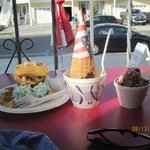 Yummy Ice Cream- Try the waffle sandwich!!