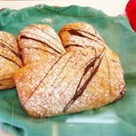 The best Belgian chocolate croissant