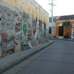 walking around getsemani, 2 minutes away from Casa Marta