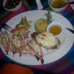 Lobster and Grilled Shrimp Special!