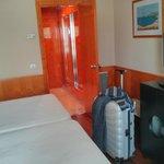 Habitación single con 2 camas (usé sólo 1)