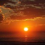 Amanecer en La Paloma ..donde nace el sol de la Patria