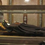Incorrupt remains of St. Clare.