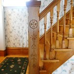 The Lovely Carved Oak Staircase